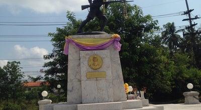Photo of Monument / Landmark อนุเสาวรีย์ยุวชนทหาร at Chumpon - Pak Nam Rd., Bang Mak, Mueang, Thailand