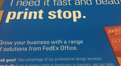 Photo of Post Office FedEx Office Print & Ship Center at 801 Louisiana St, Houston, TX 77002, United States