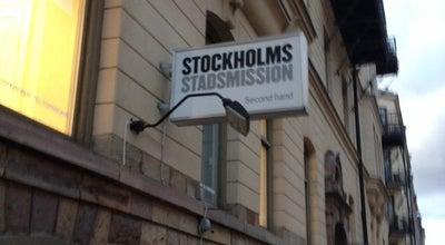 Photo of Thrift / Vintage Store Stockholms Stadsmission at Hagagatan 3, Stockholm, Sweden