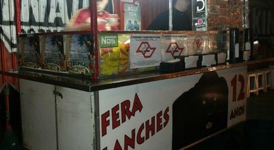 Photo of Burger Joint Fera Lanches at Rua Quatro De Março, Taubaté, Brazil