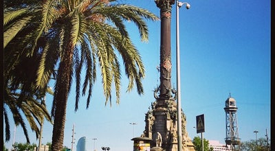 Photo of Monument / Landmark Monument a Colom at Pl. Portal De La Pau, S/n, Barcelona 08001, Spain