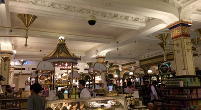 Photo of Cafe Chocolate Bar at Harrods at 87-135 Brompton Rd, London S W1X, United Kingdom