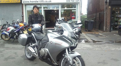 Photo of Motorcycle Shop Hunts Honda Motorcycles at 255 Kingsway, Burnage M19 1AN, United Kingdom