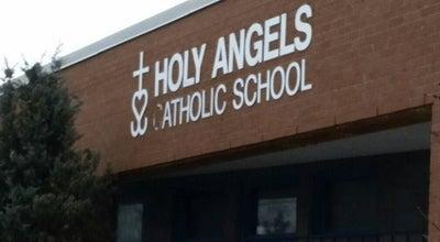 Photo of Church Holy Angels' Catholic Church at 61 Jutland Rd, Etobicoke, ON, Canada