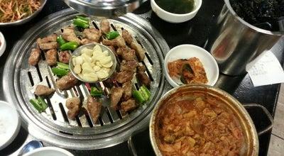 Photo of BBQ Joint 새마을식당 at 팔달구 향교로 15, Suwon-si 16455, South Korea