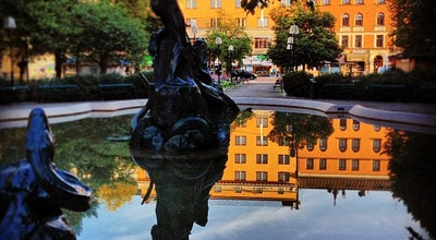 Photo of Park Mariatorget at Mariatorget, Stockholm, Sweden