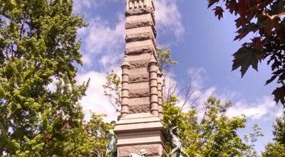 Photo of Monument / Landmark Civil War Memorial at Amherst St., Nashua, NH 03064, United States