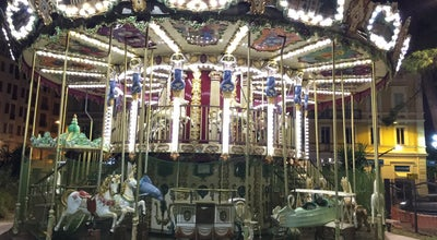 Photo of Theme Park Carrousel 1900 at Nice, France