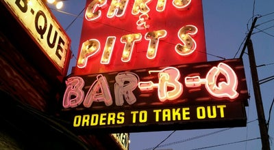 Photo of BBQ Joint Chris' & Pitt's Restaurant at 9839 Artesia Blvd, Bellflower, CA 90706, United States