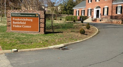Photo of History Museum Fredericksburg Battlefield Visitor Center at 1013 Lafayette Blvd, Fredericksburg, VA 22401, United States