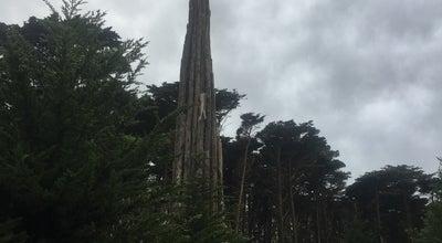 Photo of Sculpture Garden Goldsworthy Spire at Arguello Blvd, San Francisco, CA 94129, United States