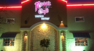 Photo of Mexican Restaurant Rosa's Cafe & Tortilla Factory at 903 Andrews Hwy, Midland, TX 79701, United States