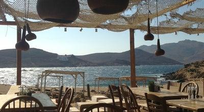 Photo of Beach Bar Alemàgou at Φτελιά, Μύκονος 846 00, Greece
