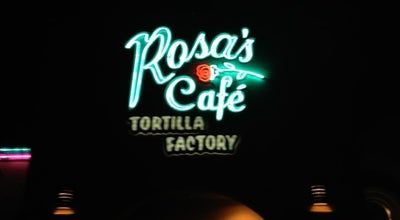 Photo of Mexican Restaurant Rosa's Cafe & Tortilla Factory at 28134 Jefferson Ave, Temecula, CA 92590, United States