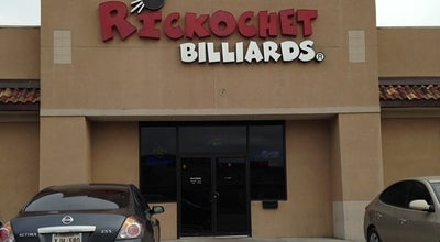 Photo of Pool Hall Rickochet Billiards at 3900 Ambassador Caffery Pkwy, Lafayette, LA 70503, United States