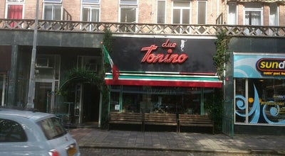 Photo of Italian Restaurant Due Tonino at Goudsesingel 67, Rotterdam 3031 EE, Netherlands