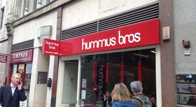 Photo of Falafel Restaurant Hummus Bros. at 128 Cheapside, London 6BT, United Kingdom