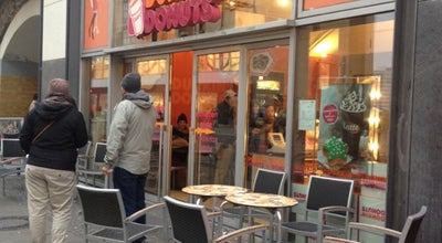 Photo of Coffee Shop Dunkin' Donuts at U-bhf Alexanderplatz, Berlin 10178, Germany