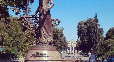 Photo of Monument / Landmark Пам'ятник Соломії Крушельницькій / Monument to Solomiya Krushelnytska at Бул. Тараса Шевченка, Тернопіль, Ukraine