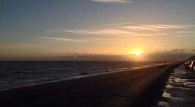 Photo of Beach Sandgate Beach at Princes Parade, Folkestone CT2 1 5, United Kingdom