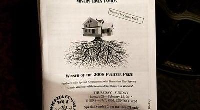 Photo of Theater Wichita Community Theatre at 258 N Fountain St, Wichita, KS 67208, United States
