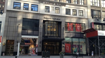 Photo of Clothing Store Banana Republic at 17 W 34th St, New York, NY 10001, United States