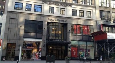 Photo of Clothing Store Banana Republic at 17 W 34th St, New York, NY 10001, United States
