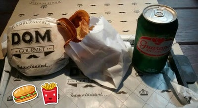 Photo of Burger Joint Hamburgueria Dom Gourmet at Avenida Portugal, Petropolis, Brazil