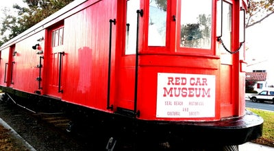 Photo of History Museum Seal Beach Red Car Museum at Electric Ave, Seal Beach, CA, United States