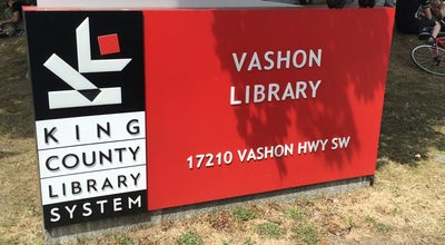 Photo of Library KCLS Vashon Library at 17210 Vashon Hwy Sw, Vashon, WA 98070, United States