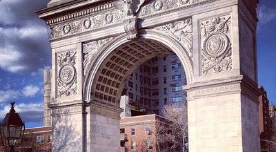 Photo of Monument / Landmark Washington Square Arch at Washington Sq N, New York, NY 10011, United States