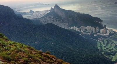 Photo of Mountain Pedra Bonita at São Conrado, Rio de Janeiro, Brazil