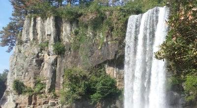 Photo of Outdoors and Recreation 정방폭포 (Jeongbang Waterfall) at 칠십리로214번길 37, 서귀포시 697-835, South Korea
