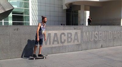 Photo of Skate Park MACBA Skate Spot at Plaça Dels Àngels, Barcelona, Spain