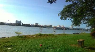 Photo of Beach Muar River at Bandar Maharani, Johor, Malaysia