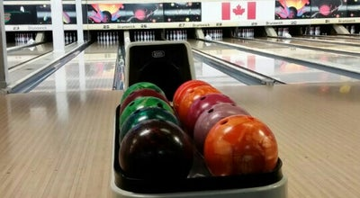 Photo of Bowling Alley Leisure Bowling Lanes at 728 Champlain Ave, Oshawa, On L1J 6W8, Canada