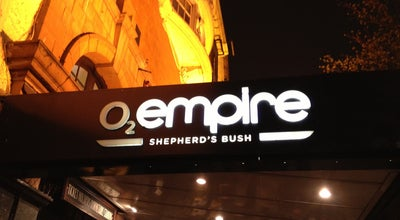Photo of Music Venue O2 Shepherd's Bush Empire at Shepherd's Bush Green, Shepherd's Bush W12 8TT, United Kingdom