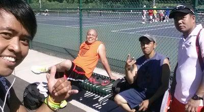 Photo of Tennis Court Scalzi Tennis Courts at 100 Bridge St, Stamford, CT 06902, United States