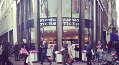 Photo of Gift Shop Flying Tiger at Rembrandtplein 2, Amsterdam 1017 CV, Netherlands