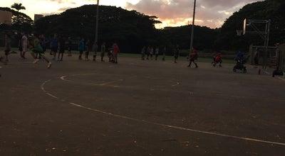 Photo of Basketball Court Moanalua Basketball & Tennis Courts at Honolulu, HI 96819, United States