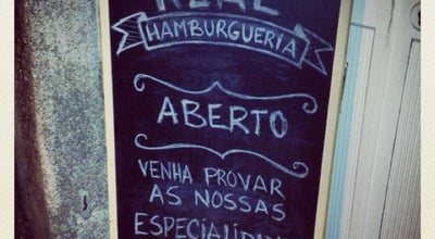 Photo of Burger Joint Real Hamburgueria Portuguesa at Rua Da Torrinha, 134, Porto 4050-609, Portugal