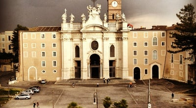 Photo of Church Basilica of the Holy Cross in Jerusalem at Piazza Santa Croce In Gerusalemme 12, Rome 00185, Italy