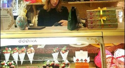 Photo of Chocolate Shop Godiva at 87-135 Brompton Rd, United Kingdom