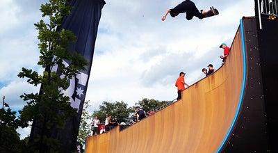 Photo of Skate Park Fælledparkens Skatepark at Edel Sauntes Allé, København Ø 2100, Denmark