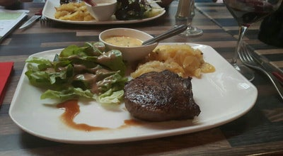 Photo of Steakhouse Le Boeuf Café at 15 Rue Des Petits Gras, Clermont-Ferrand 63000, France