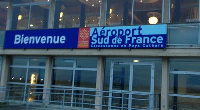 Photo of Airport Aéroport Sud de France Carcassonne at Route De Montréal, Carcassonne 11000, France