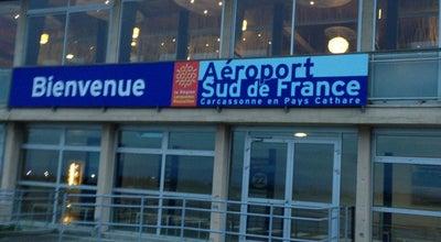 Photo of Airport Aéroport Sud de France Carcassonne at Route De Montréal, Carcassonne 11000, France