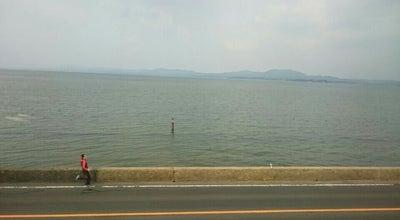 Photo of Lake 宍道湖湖畔 at 西浜佐陀町, 松江市, Japan