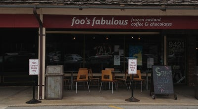 Photo of Ice Cream Shop Foo's Fabulous Frozen Custard at 9421 Mission Rd, Leawood, KS 66206, United States