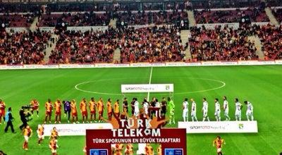 Photo of Soccer Stadium Türk Telekom Arena at Seyrantepe, Şişli 34396, Turkey